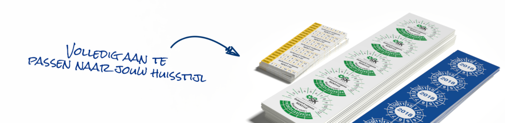 Stickerkoning voor raamstickers